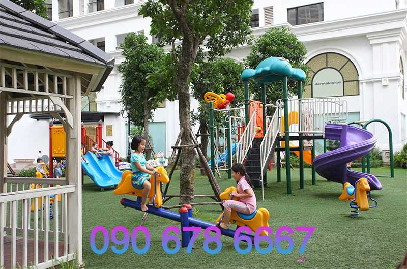 Ý tưởng thiết kế khu vui chơi trẻ em cho công viên