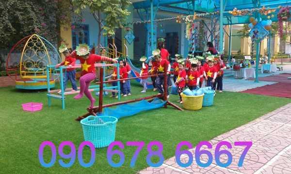 thiết kế khu vui chơi trẻ em ngoài trời giá rẻ