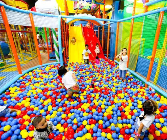 Hướng dẫn thiết kế khu vui chơi trẻ em trong nhà