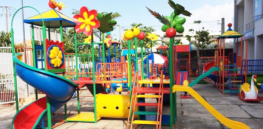Những lưu ý khi mở khu vui chơi trẻ em công viên hoặc trường mầm non