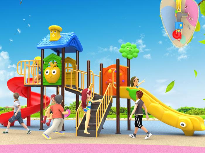 hình ảnh lắp đặt khu vui chơi trẻ em