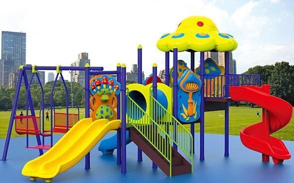 Nhưng lưu ý khi mở khu vui chơi cho trẻ em tại công viên hoặc trường mầm non