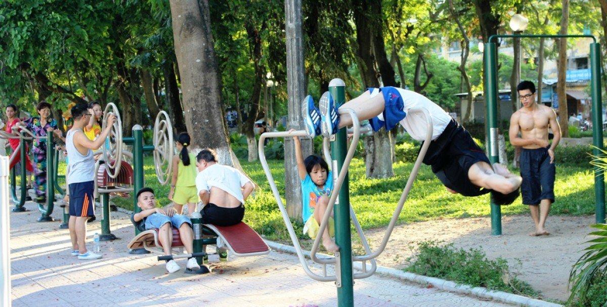 dụng cụ thể thao trường học giúp tăng cường sự tập trung cho học sinh