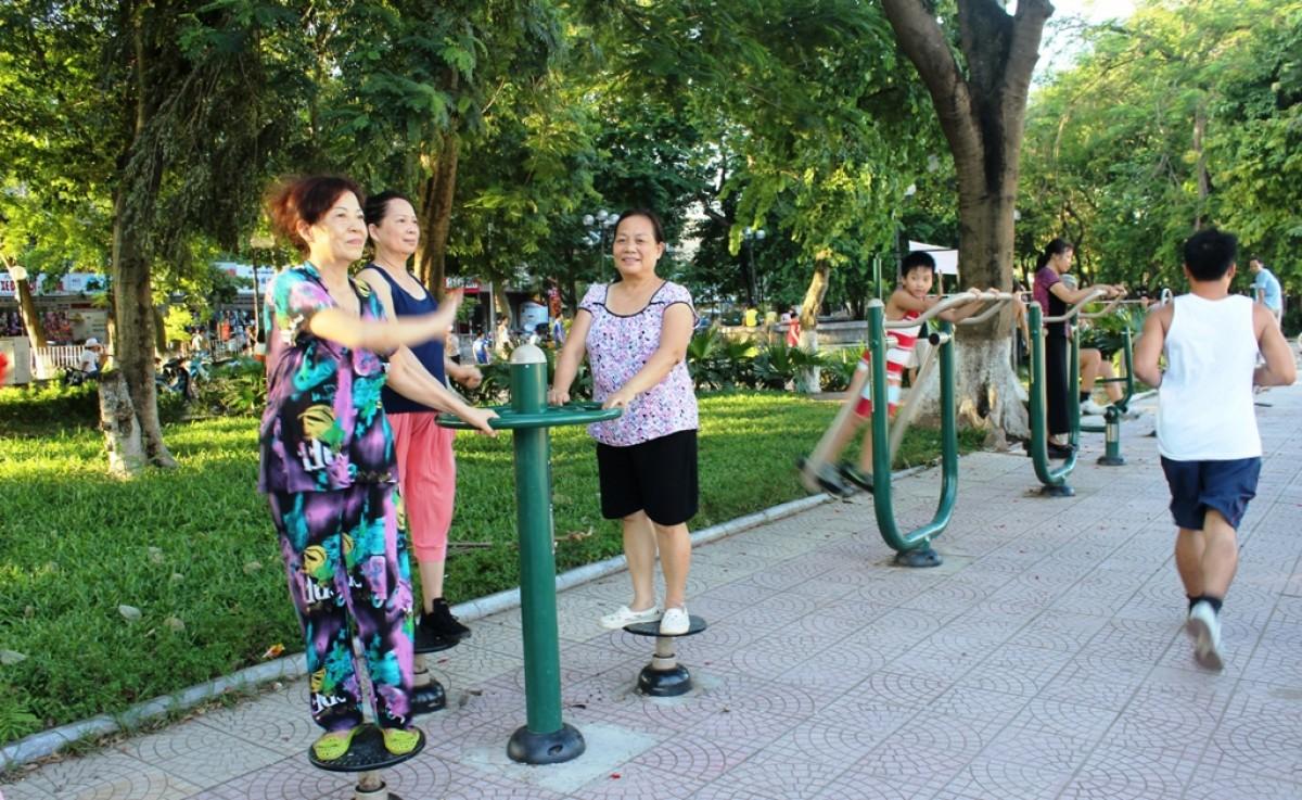 Báo giá dụng cụ thể thao lắp đặt tại sân vườn sân vườn