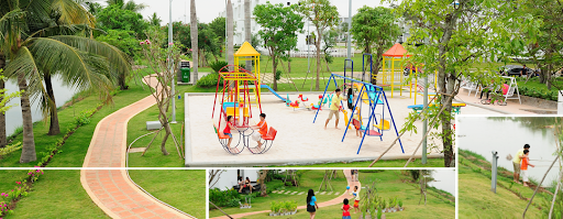 mô hình khu vui chơi trẻ em ngoài trời